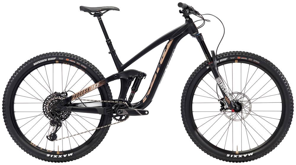 Bike Hire - Kona Process 153 Dual Suspension MTB - (Medium) - Per Day