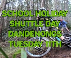 """School Holiday MTB Shuttle Day Inc Lunch """"LOCAL TRAILS"""" (FULL DAY EVENT) Tuesday 11th"""