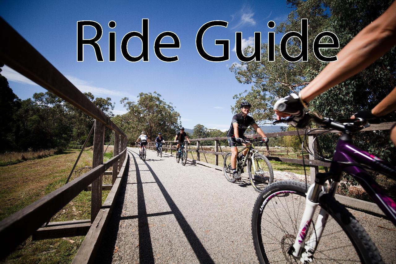 Ride Guide - Warburton Trail (Min 3 Hours @ $60 per hour)