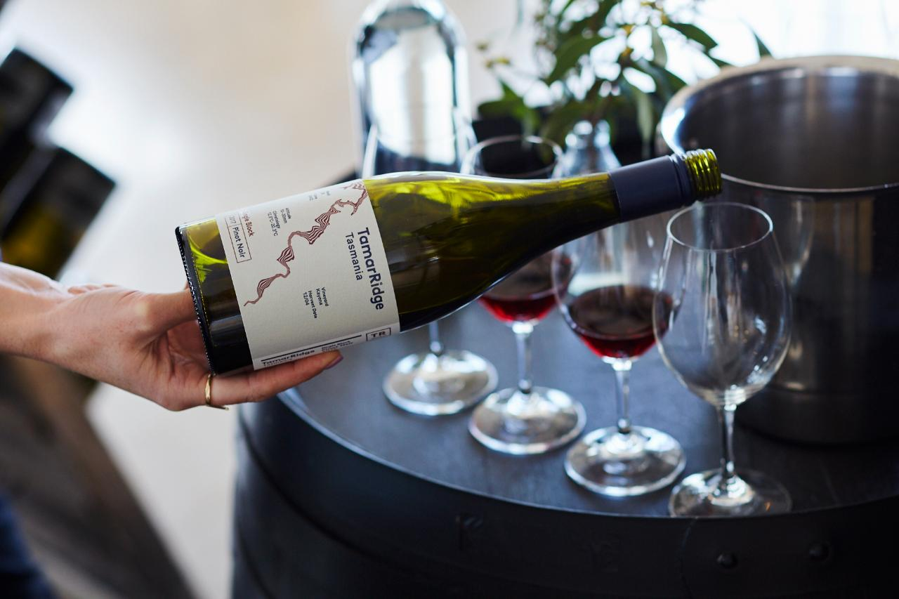 Wine Tasting at Tamar Ridge