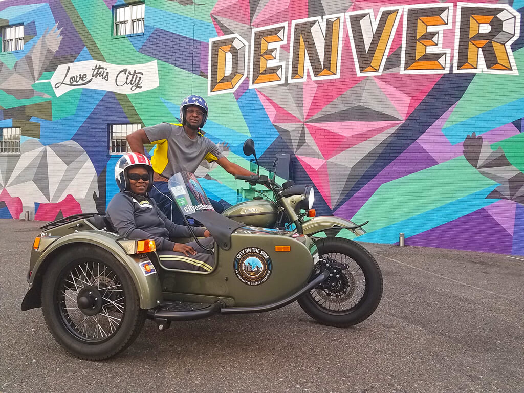 1.5 Hour Essential Denver City Sidecar Motorcycle Tour