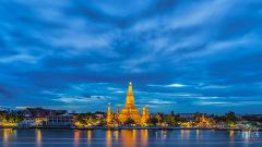 Bangkok's Grand Palace and Wat Phra Kaew Tour + Wat Arun