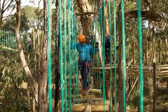 Adrenaline Package - Zipline, Tree Ropes + Mountain Bikes