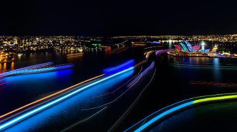 Vivid Sydney Cruise 2017