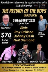 The return of the boys cruise show