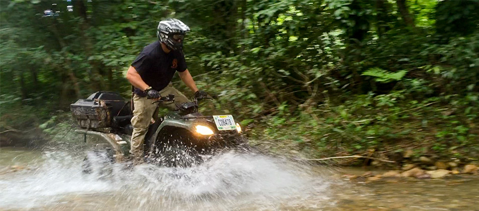 Jungle ATV Ride to Macal River (4 - 6pax)