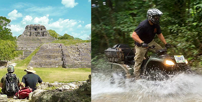 Jungle ATV Ride to Xunantunich (2 pax)