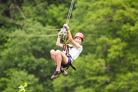 Zip Lining at Calico Jack's Village (Extreme Zip Line) 3 -6 pax