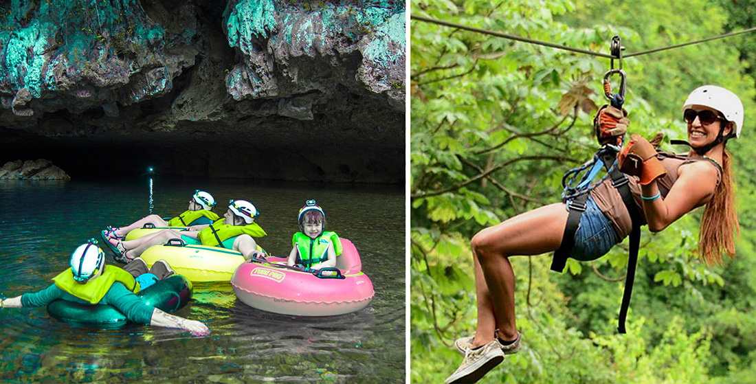 Cave Tubing & Calico Jack's Zip Lining (Ultimo Explorer) Combo