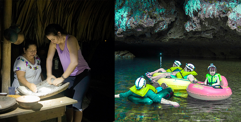 Maya Culinary Tour & Cave Tubing (3-6pax)