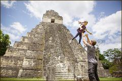 Tikal Maya Temples