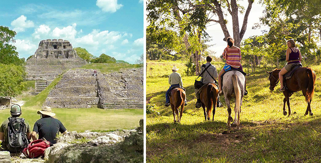 Xunantunich on Horseback Combo (3 to 6 pax)
