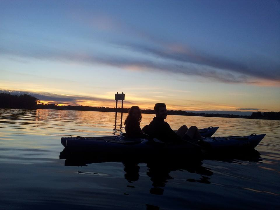 Kings Bay Sunset Kayak