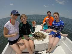Guided Scalloping in Crystal River with Captain John!