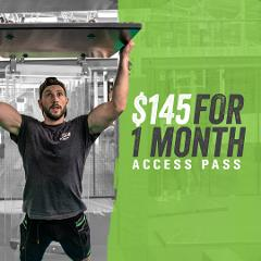 Ninja Parc 1 month access pass