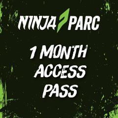 Ninja Parc 1 month access pass (Adults 18+)