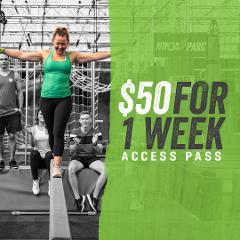 Ninja Parc1 Week access pass