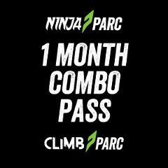 Ninja Parc + Climb Parc 1 month access pass (Adults 18+)