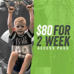 Ninja Parc 2 week access pass