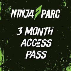 Ninja Parc 3 month access pass (Adults 18+)
