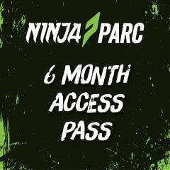 Ninja Parc 6 month access pass (Adults 18+)