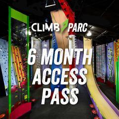 Climb Parc 6 month access pass (Kids under 18YO)
