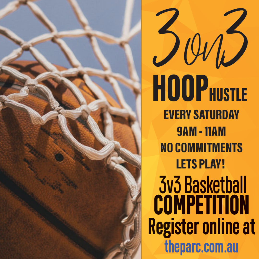 3 on 3 Hoop Hustle Basketball