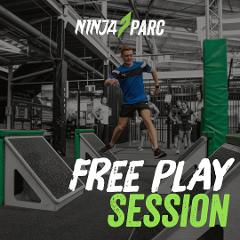Ninja Parc Obstacle Play session