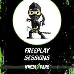 Ninja Parc Obstacle Play session (UNDER 8 Yrs)