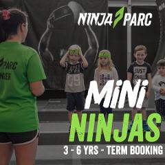 Mini Ninjas - 3-6yrs TERM BOOKING