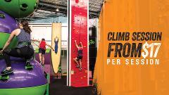 Climb Parc session
