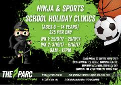 Dec/Jan Holidays Ninja and Sports Holiday Clinic