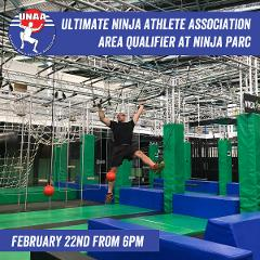 (MENS CATEGORY age 18-40) Ultimate Ninja Athlete Association (UNAA) Area Qualifier Registration.