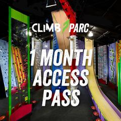 Climb Parc 1 month access pass (Adults 18+)
