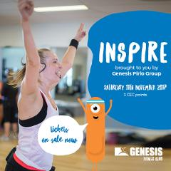 INSPIRE Conference - 1 session ONLY - Genesis Member - $15.00