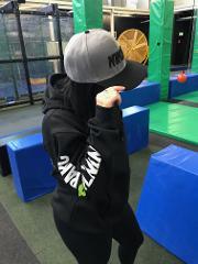 Ninja Parc Flat Brim Cap