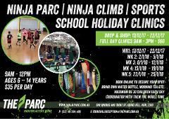 Dec/Jan Holidays Ninja, Climb and Sports Holiday Clinic