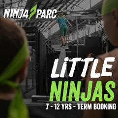 7 -12 yrs Little Ninjas Sessions TERM BOOKING