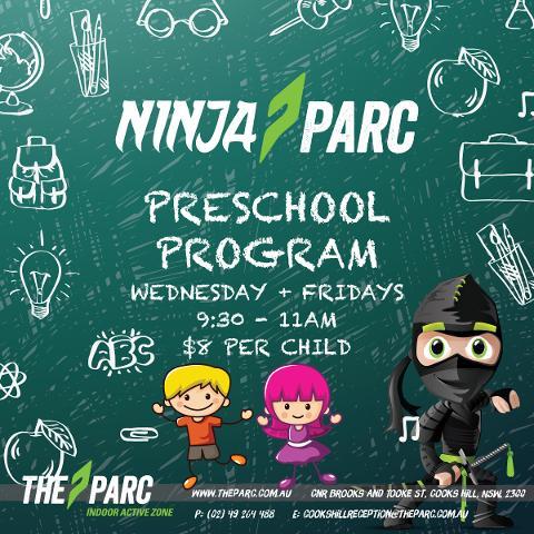 Ninja Parc Preschool Program