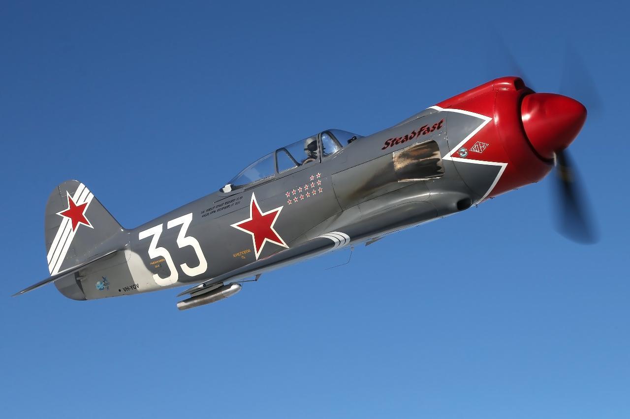 Yak-3 SteadFast Gold