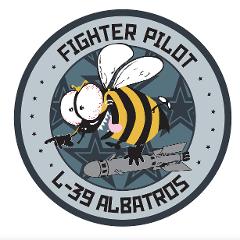 L-39 Albatros Badge