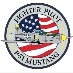 P-51D Mustang Badge