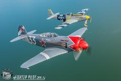 WWII Fighter Air to Air Combat.