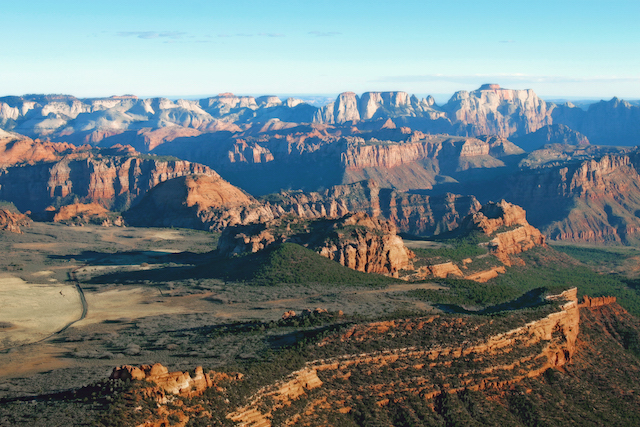 35 Mile Zion Panoramic Flight - Book By Phone Only
