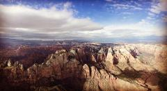**THIS TOUR IS CURRENTLY UNAVAILABLE**   65 Mile Zion/Kolob Canyon's/Canaan Cliffs Specialty Tour + Zion Butte Landing Experience