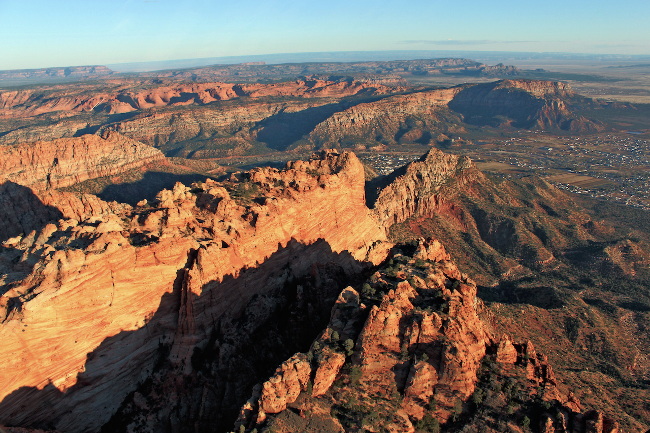 **THIS TOUR IS CURRENTLY UNAVAILABLE**  55 Mile Zion / Canaan Cliffs Tour + Zion Butte Landing Experience