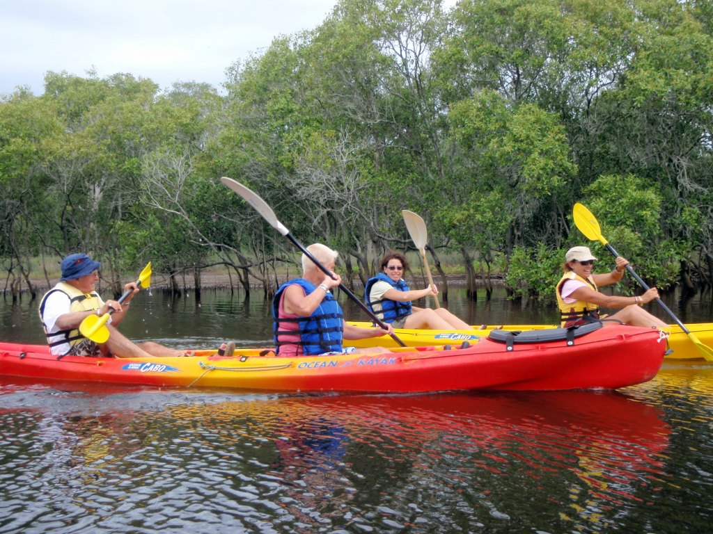 KAYAK ADVENTURE : Cabarita Lake To Kingscliff ( Self-guided )
