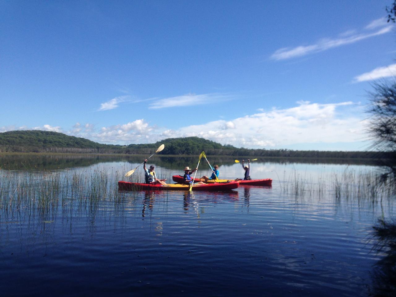 KAYAK ADVENTURE : Cabarita Lake To Kingscliff ( Guided )