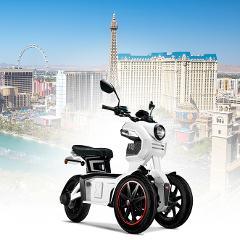 Ride the Tesla iTank Around Las Vegas All Day Rental