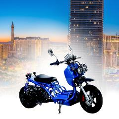 Ride Around Las Vegas on a Maddog 49cc Scooter All Day Rental
